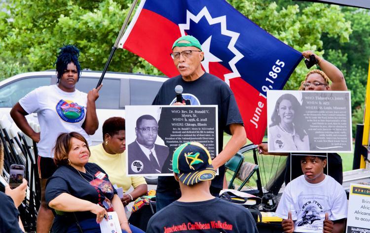St. Louis organization commemorates Juneteenth with walkathon